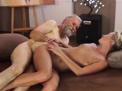 Hairy Chest Old Man And Young Teen Girl Anal Sexual