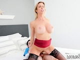 Teen with massive boobs fucked She pulled his spying