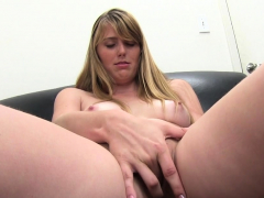 Sweet Looking Gal Undresses Off To Fuck With Her Interviewer