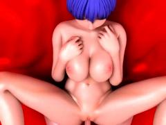 Schoolgirl hentai tittyfucked and facial cumshot