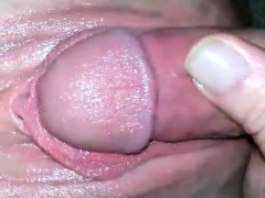 enjoying vagina