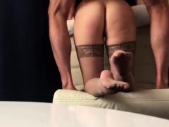 Homemade russian anal