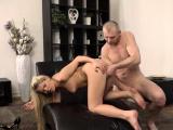 OLD4K. Claudia Mac reaches orgasm thanks to mature