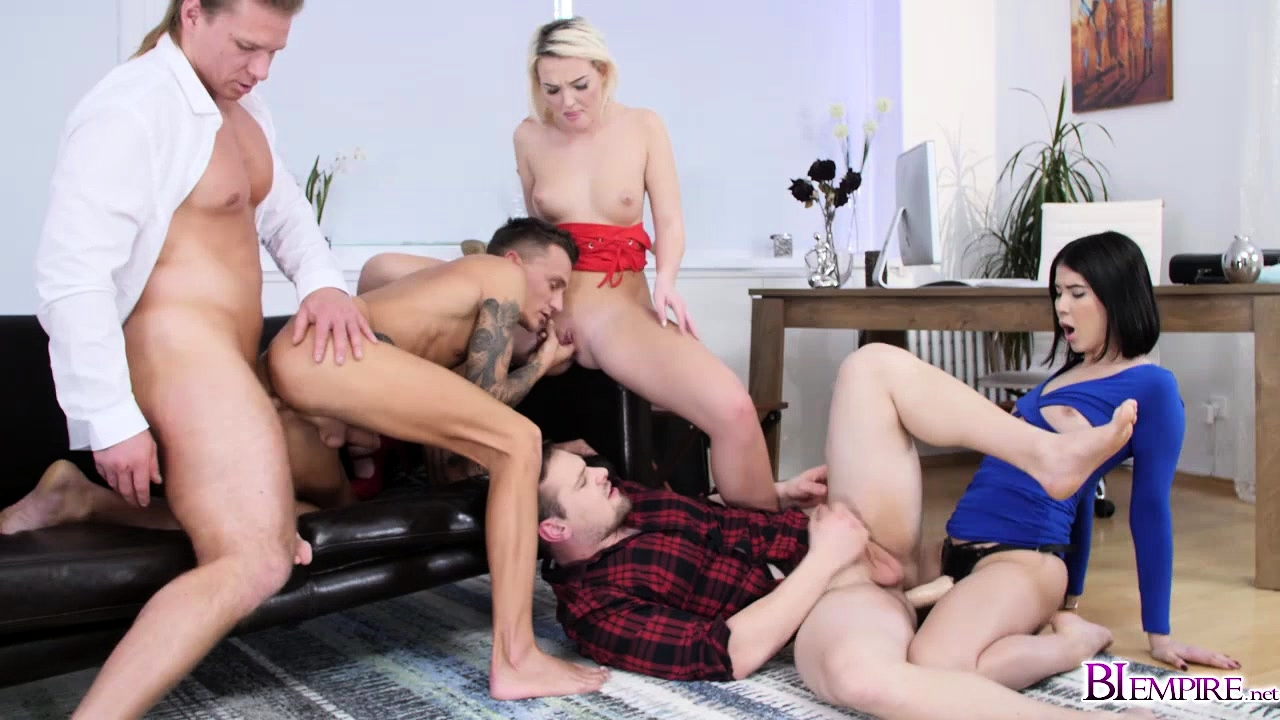 Lady and Lovi take advantage of the guys