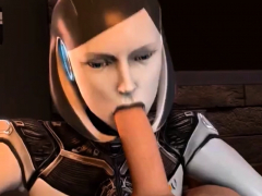 Stunning Mass Effect babes get pussy fucked hard