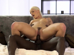 BLACK4K. Sweet thing Blanche asks black guy to join
