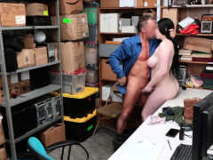 Tattooed REBEL take GUARDs fat cock in her pussy