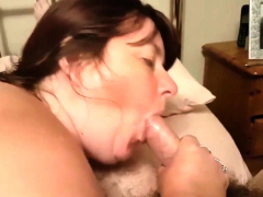 Beth gives a BJ