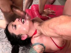 Ivy Lebelle hardcore blowbang
