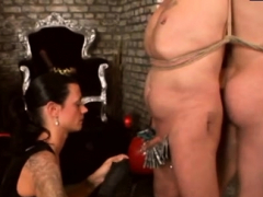 serf-gets-his-arse-fisted-and-dick-pumped-by-mistress