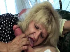 Hairy 80 Years Old Skinny Mom Fucked