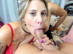 pov-handjob-and-titfuck-for-cock-sucking-whore-in-pov-scene