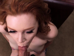 redhead-creamed-by-big-cock-in-casting