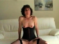 Mature ladies stripping
