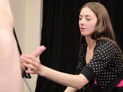 voyeur-cock-artist-gives-femdom-handjob