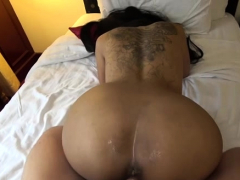 skinny asian babe fucked and creampied