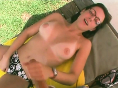 babe-with-glasses-likes-to-jerk-off-her-man