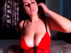 big titted webcam slut shows off her boobs