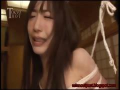 Cute Sana Anju Tied And Fucked Hard