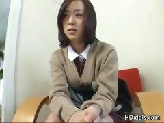 Cute Asian Schoolgirl Upskirt Video Part4