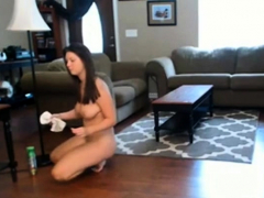 naked house cleaning 2