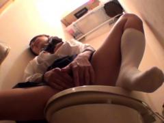 horny asian girl rubs xvideo-world