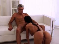 OLD4K. Slender girl Liliane enjoys sex with old gentleman