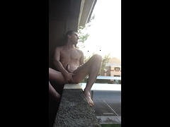 exhibitionist-almost-caught-jacking-in-public-on-my-balcony
