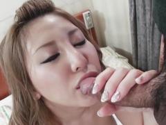 Vigorous japanese sweetie Mariru Amamiya fuck like a pro