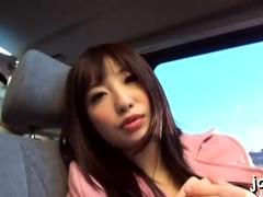 Nude japanese gf Arisa Nakano blows then fucks