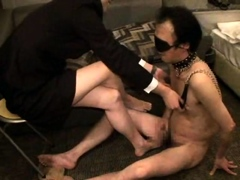 busty mistress tangent femdom foot fetish