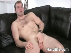 handsome-guy-massages-his-nice-dick