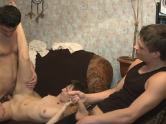 Delectable Russian Brunette Shirley Fucked In Pussy