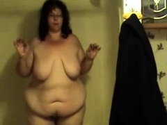 fat juicy bbw in the shower