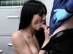 Mike's Cavity Search Leads To Banging Judy's Tight Pussy