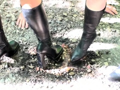 boot-domination-with-feeding-outdoor