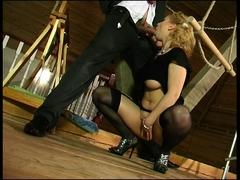 blonde-stockings-fetish-hottie
