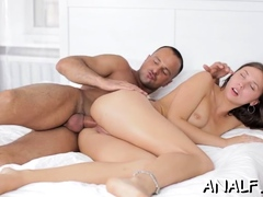 Sausage Rams Pussy Of Ambitious Young Hottie Ananta Shakti