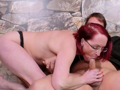 german mature step mother with her son