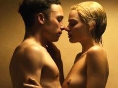 Margot Robbie wet tits in a sex scene