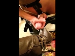 Awesome foot job Perfect feet and huge cumshot toejob fetish