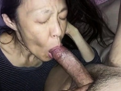 Loves to suck her man's cock