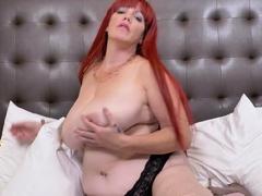 EuropeMaturE Huge Breasts of Big Redhead Mature
