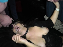 Slutwife Marion swallows load after load