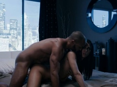 Horny shemale wife gets her ass fucked by her black husband