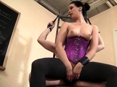 Femdom Masturbation Teasing Slave Torture!