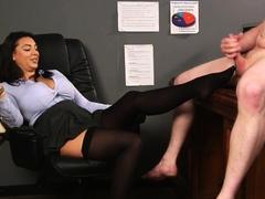 bigtit-office-voyeur-feet-teasing-subject-dick