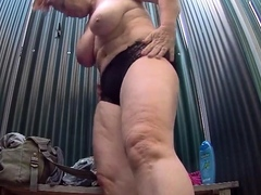 big titted mature spied in public shower | xnpornx