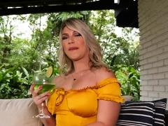 Huge clitoris on amateur latina blonde