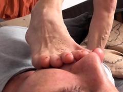 german-mature-dom-foot-gagging-poor-slave